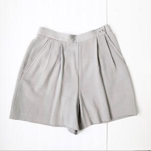 Banana Republic Pleated High Waist Trouser Short